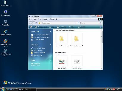 Tema desktop Windows Vista