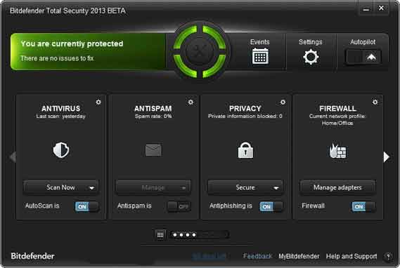Bitdefender Total Security 2013 Free Public Beta