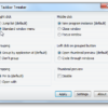 Mengubah taskbar Windows 7 dengan Taskbar Tweaker