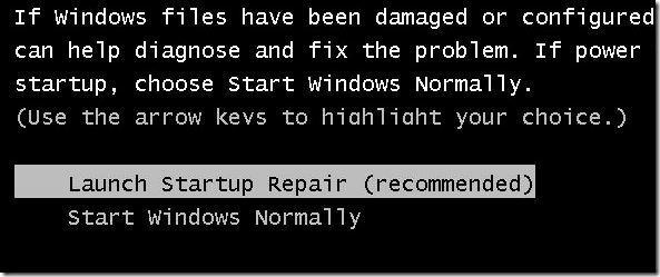 Memperbaiki Startup Windows 7 Tanpa Dvd Instalasi Windows 7
