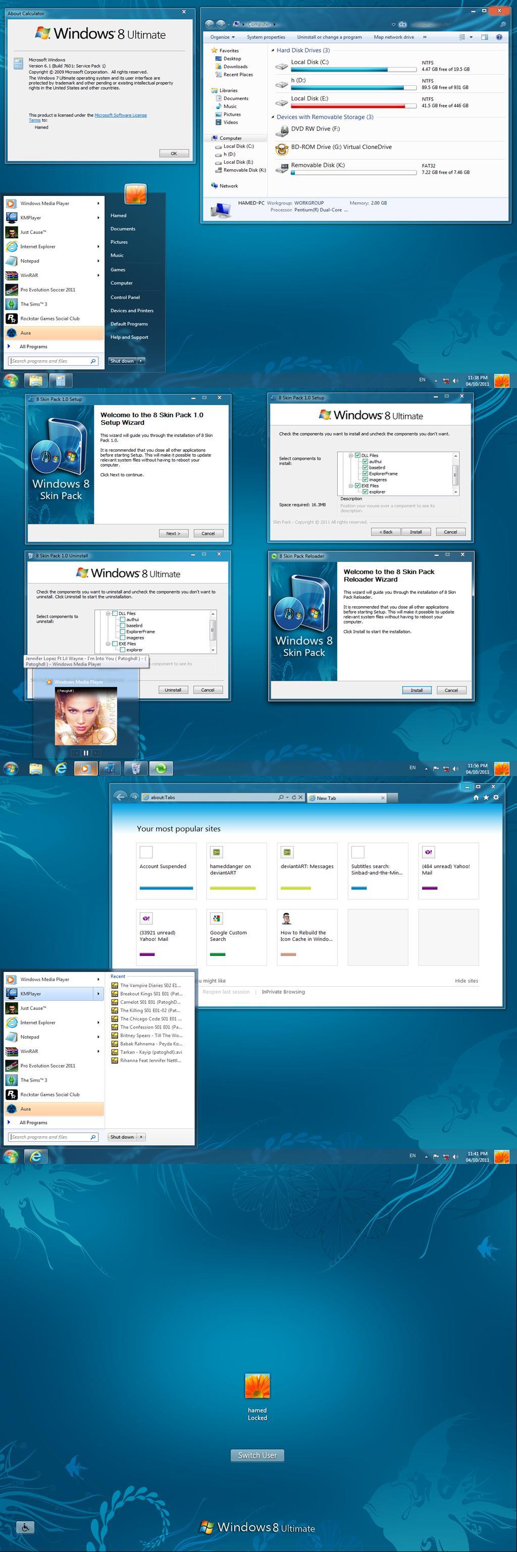 Windows 7 Transformation Pack