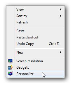 dan Vista membawa set latar belakang yang sangat anggun Mengganti screensaver Windows 7 dan Vista