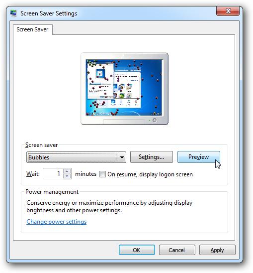 Screen Saver Windows