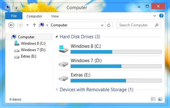 Windows 8 Transparan