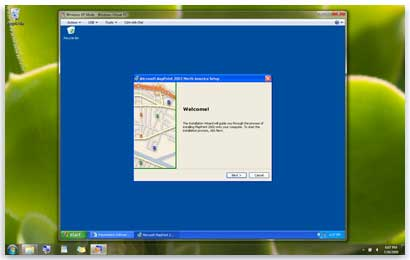 xp machine windows 7
