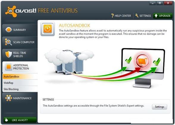 Avast Sandbox