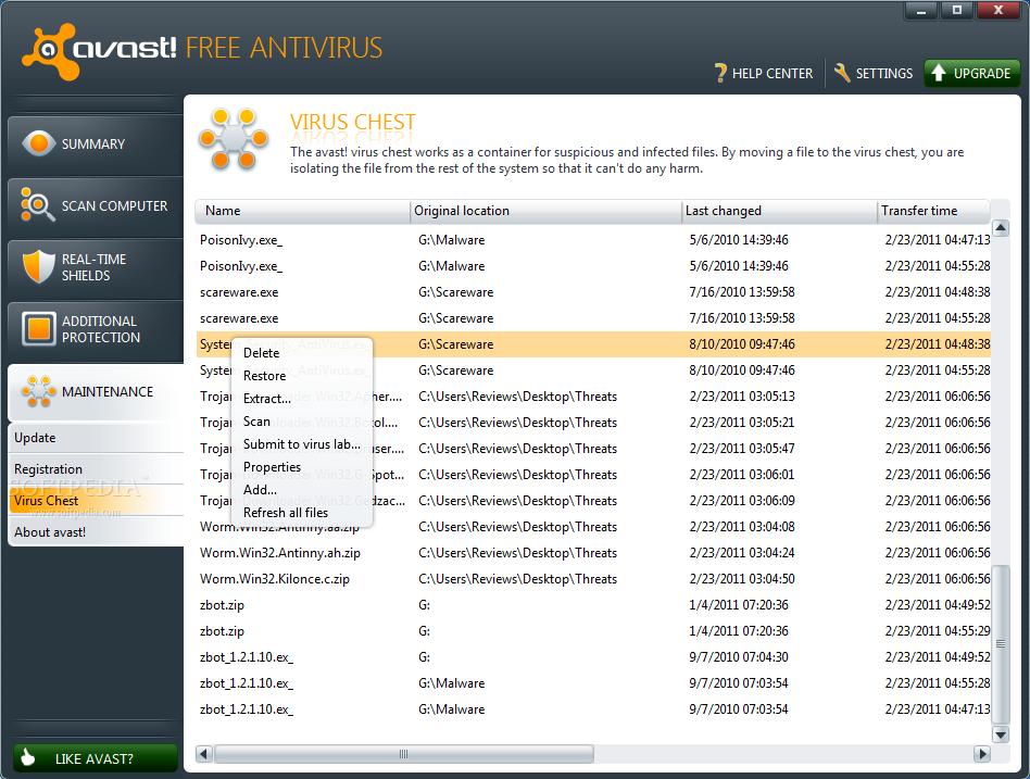 Avast Antivirus 6