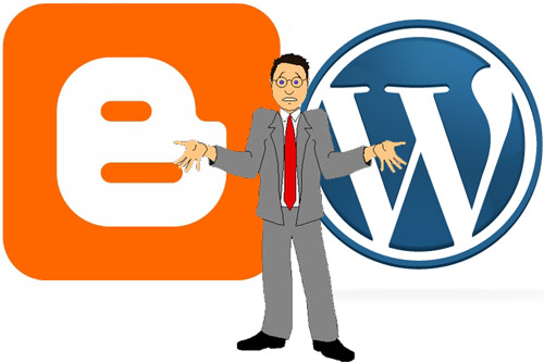 WordPress dan blogger