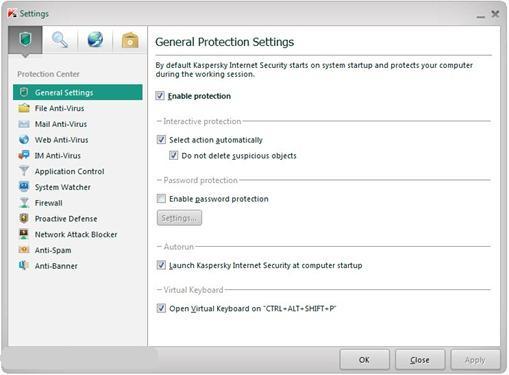 Kaspersky Internet Security (KIS) 2012 Beta