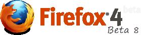 Firefox 4 Beta 8