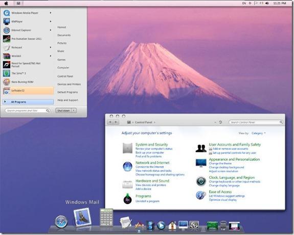 Windows 7 MAC