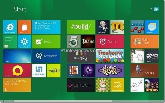 Uninstall Windows 8