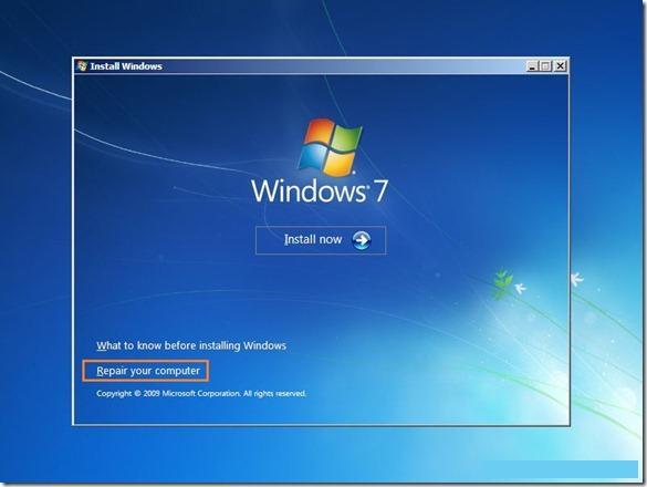 Start-up Windows Error