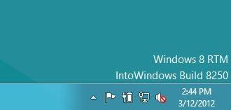 Watermark Windows 8