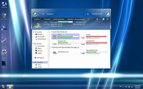Windows 7 Longhorn