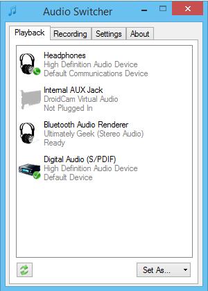 Audio-Switcher