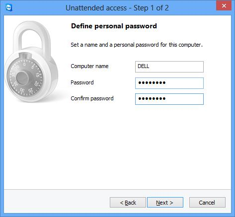 TeamViewer-10 Personal Password