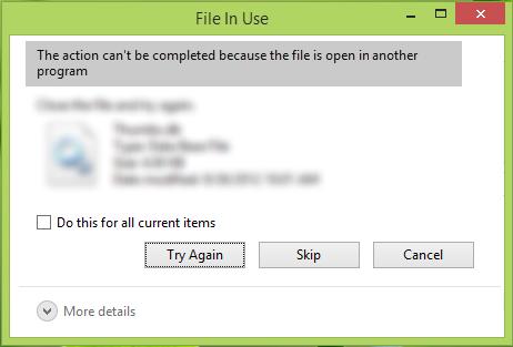 file tidak dapat terbuka