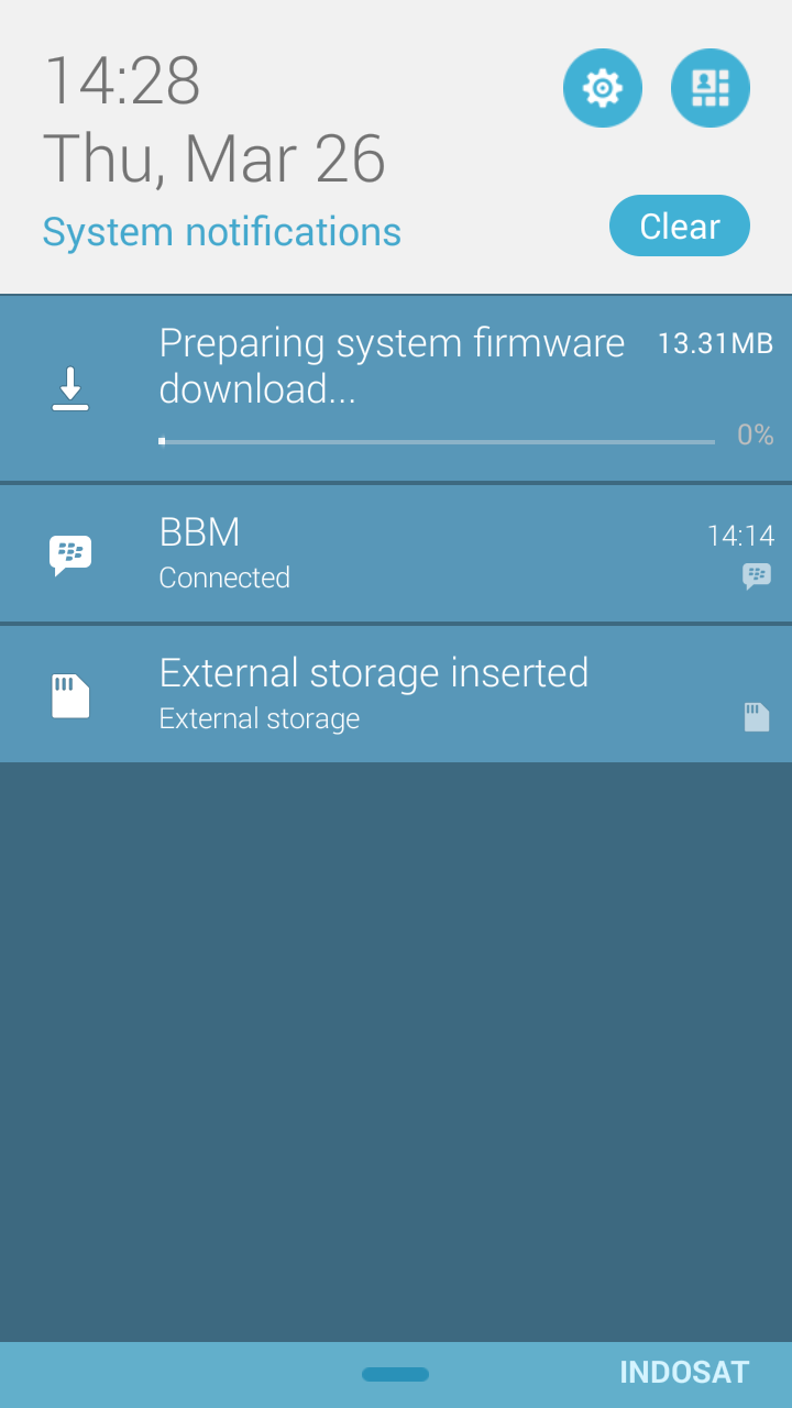 Proses Download Update Sistem FirmWare