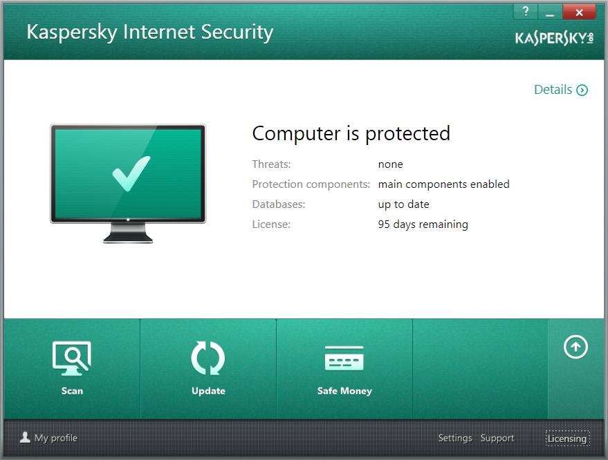 Recover Key Kaspersky