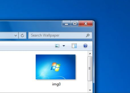 Title Bar WIndows 7