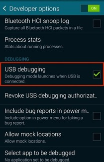 Membuka Developer Options Pada Samsung Galaxy S6