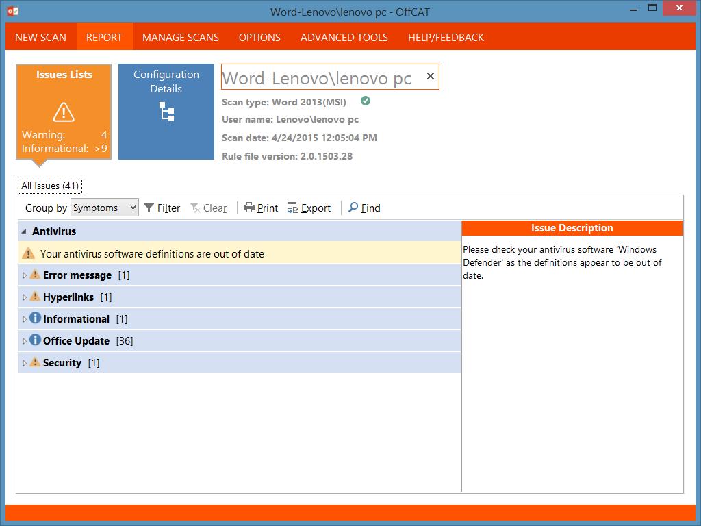 Memperbaiki Microsoft Office