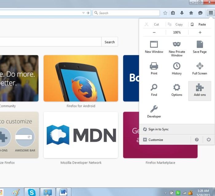 Menghapus Konten Ask Pada Browser Mozilla Firefox