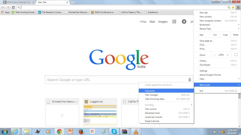 Menghapus Konten Ask.com Pada Browser Google Chrome