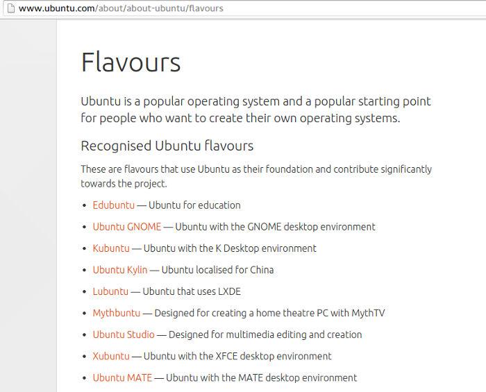 Variasi Ubuntu
