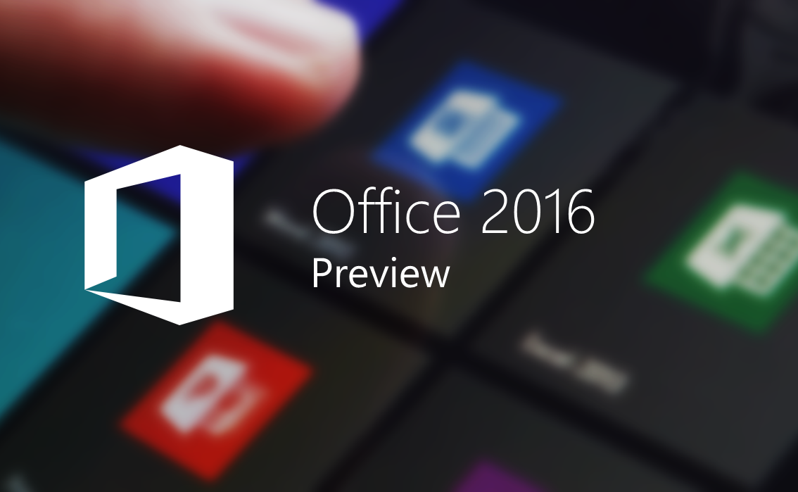 Preview Microsoft Office 2016
