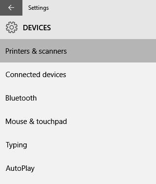 Pengaturan Device pada Windows 10