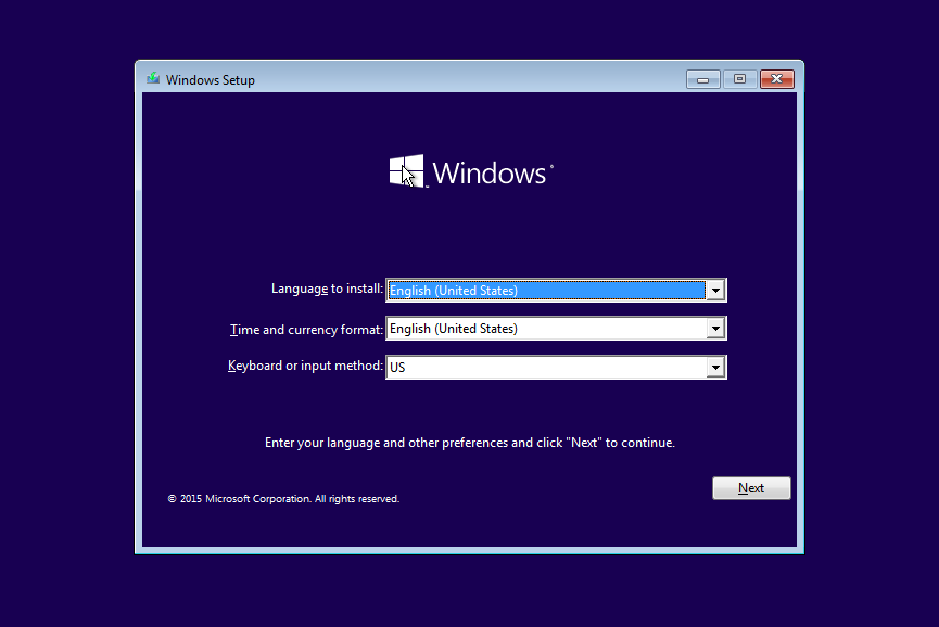 cara installer ulang windows 8 via usb