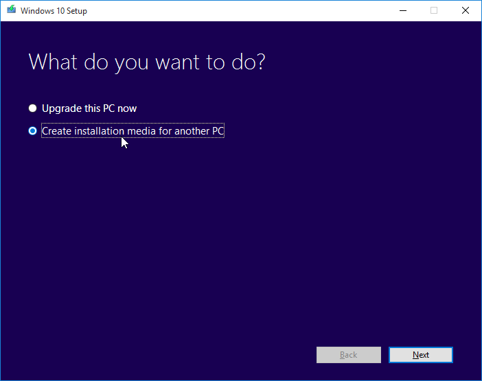 Upgrade atau Install Windows 10