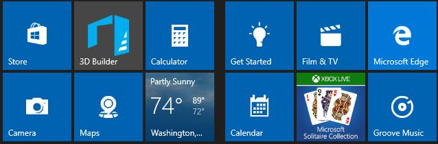 Aplikasi Bawaan Windows 10