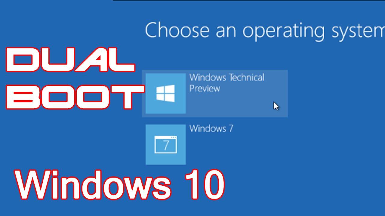 bulan kemudian Microsoft telah meluncurkan edisi Windows terbaru  Tutorial Cara Dual Boot Windows 10 Dengan Windows 7/ 8.1