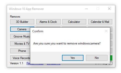Hapus Aplikasi Bawaan Windows