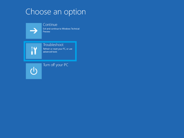 Troubleshoot Windows 10