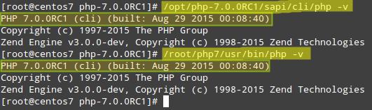 Cek Instalasi PHP 7