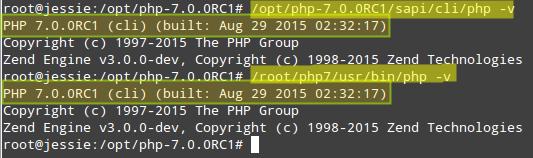 Cek Versi PHP Debian 8