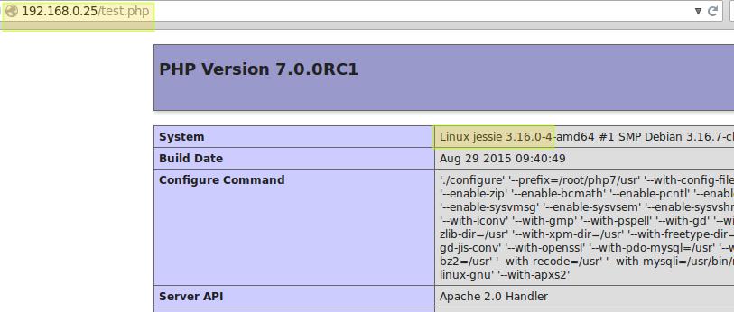 Test Instalasi PHP