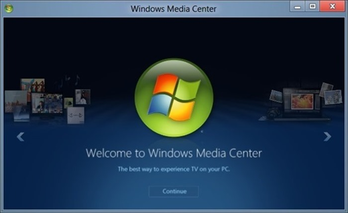 Windows Media Center Windows 10
