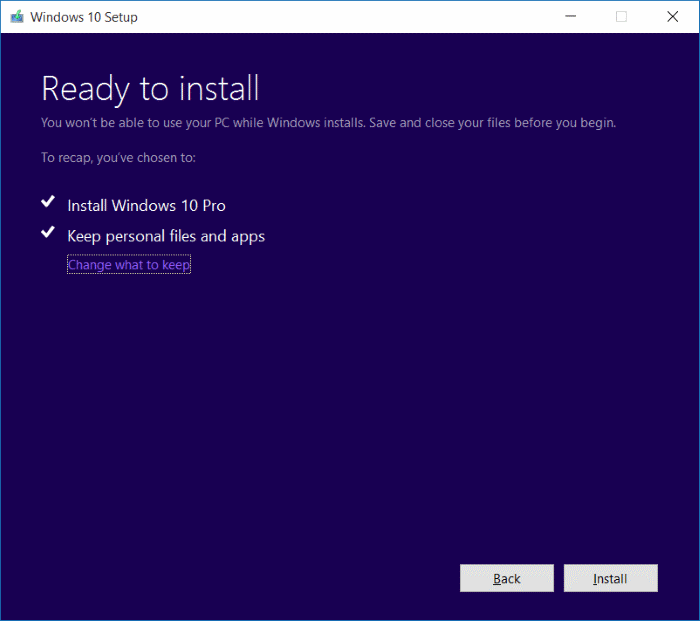 Install November Update Windows 10