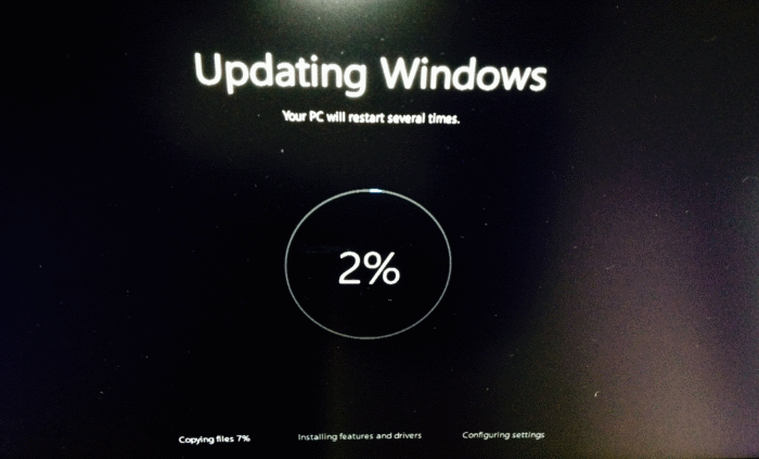 Proses November Update Windows 10