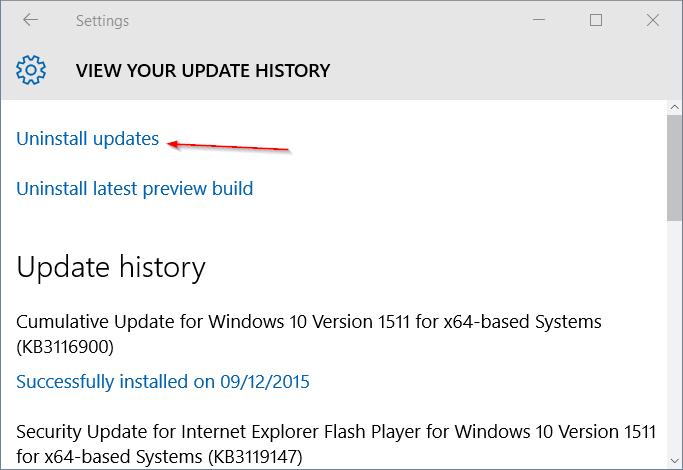 Tidak semua update yang dirilis oleh Microsoft sanggup meningkatkan perfoma atau mengatasi m Cara Menghapus / Uninstall Update di Windows 10