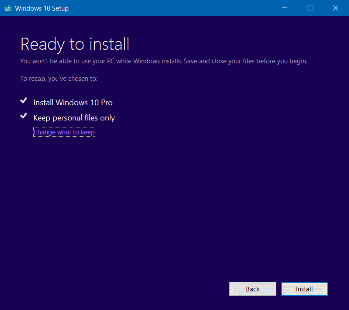 Install ulang Windows 10