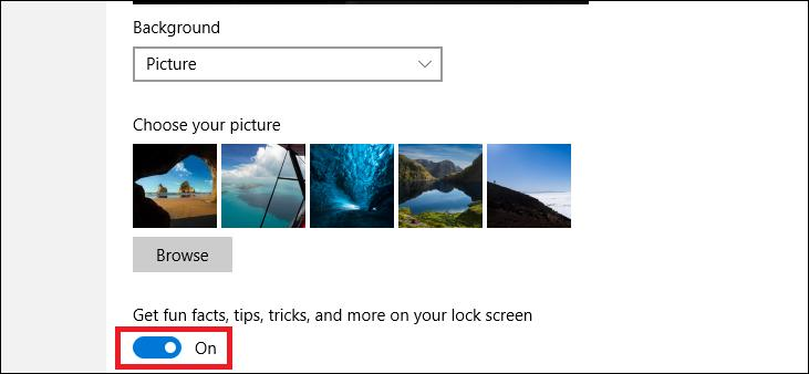 Mematikan iklan lock screen Windows 10