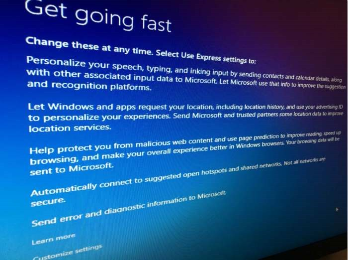 Pengaturan Privasi Windows 10