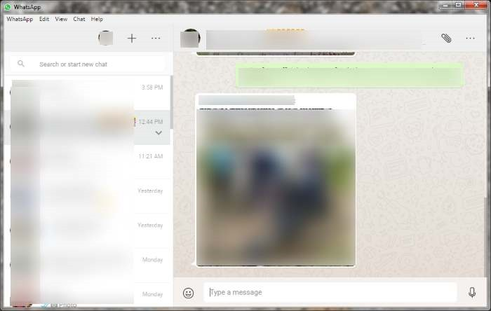 Install WhatsApp di Windows 7