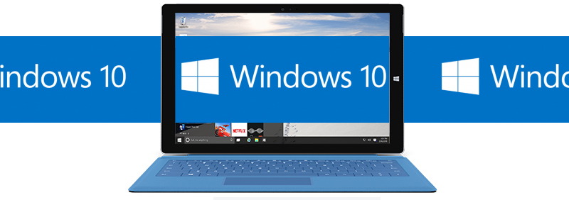 Logo Banner Windows 10